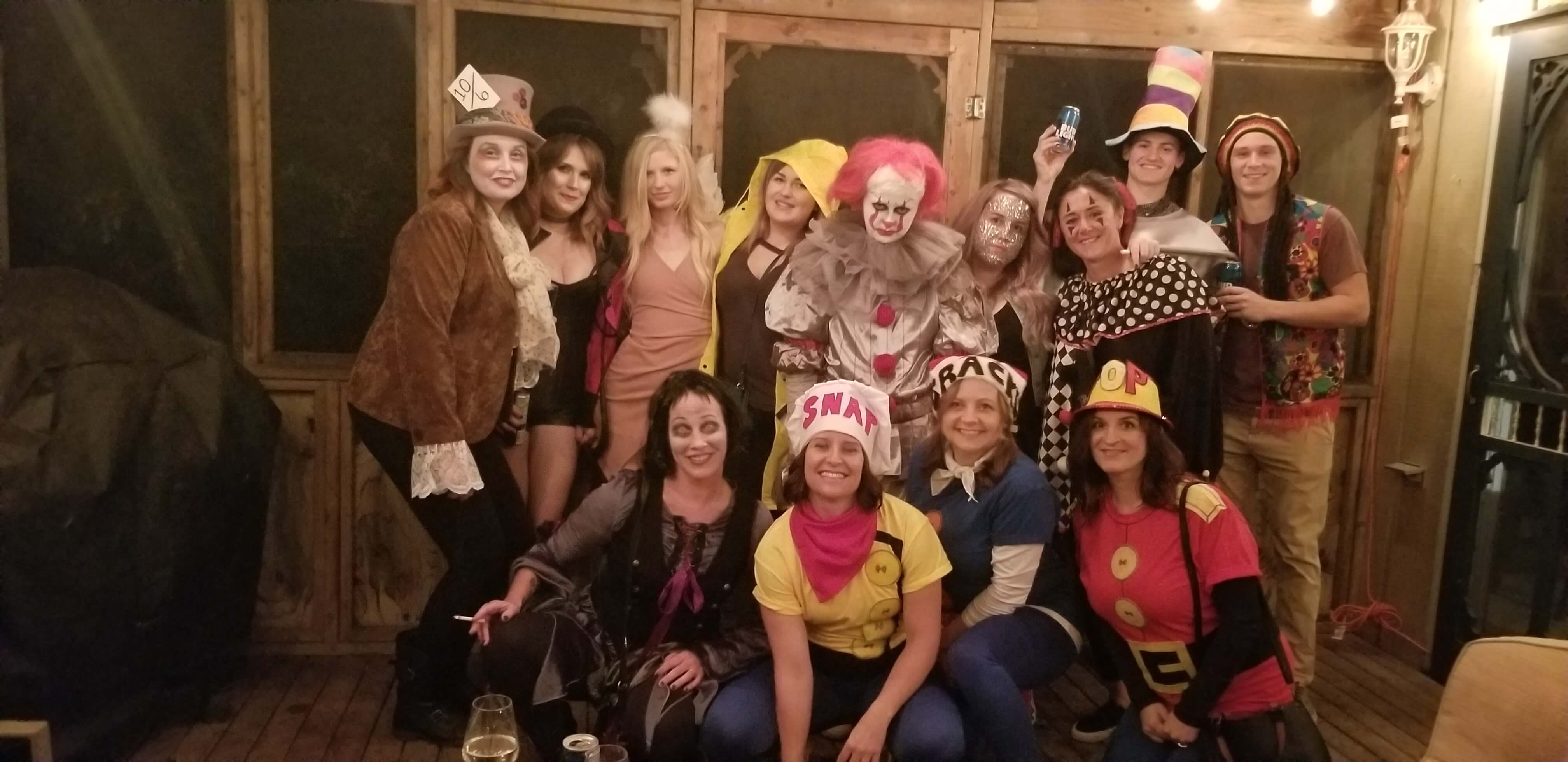 Halloween Group at the Shore Club in Hubbards